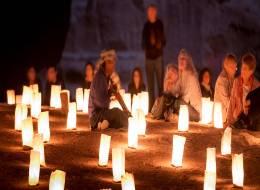 Шоу ночных огней в Петре-479